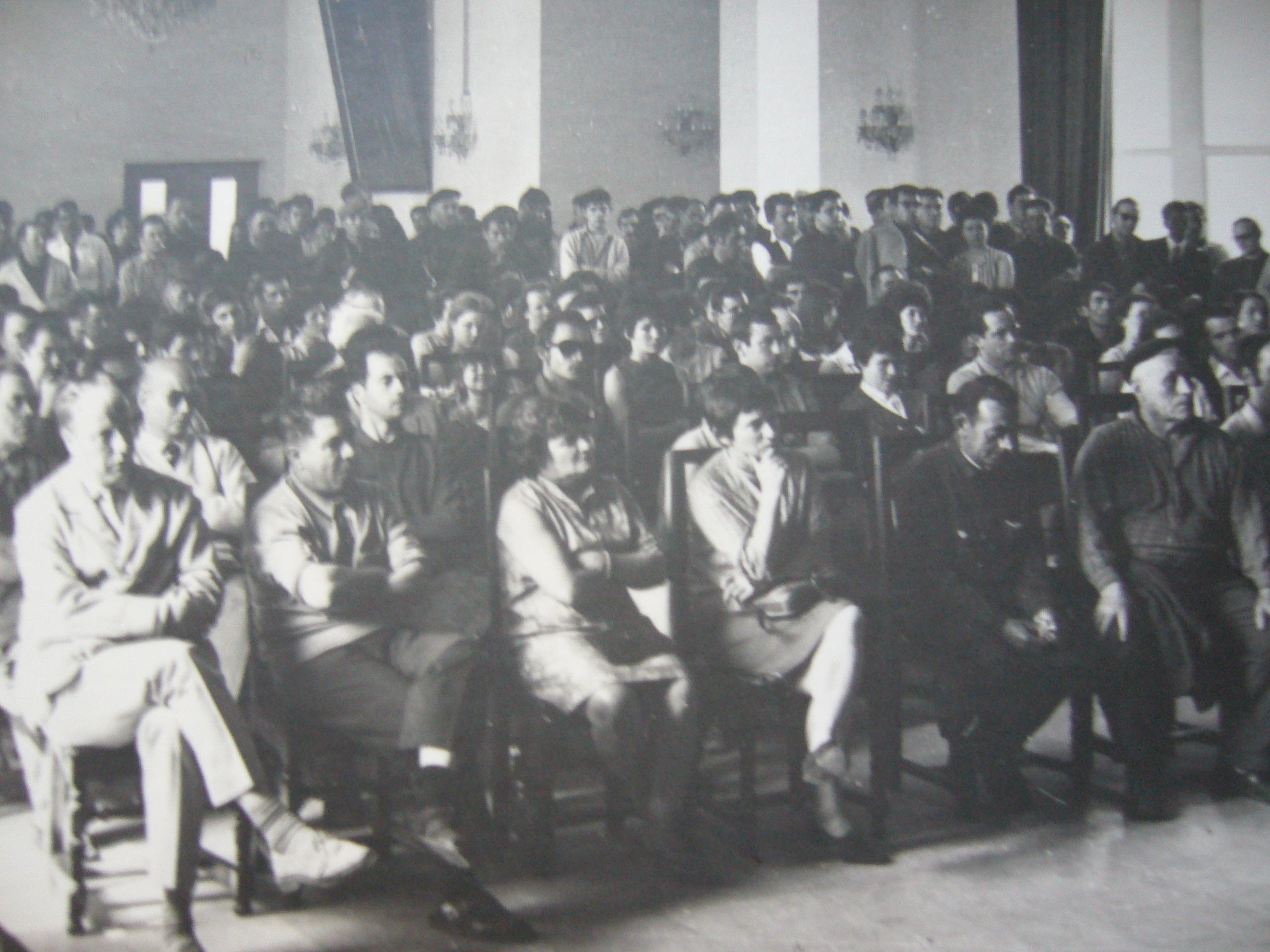 Réunion en 1968